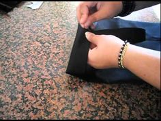 Tutorial Cucire una borsa semplice (Sportina / shopping bag) - YouTube