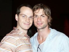 Peter Paige and Gale Harold