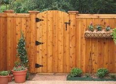 diy wood privacy fence gates