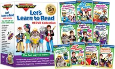 Lets Learn to Read 10-DVD Collection by Rock N Learn for $35 http://sylsdeals.com/lets-learn-read-10-dvd-collection-rock-n-learn-35/