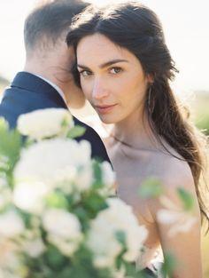simple wedding hair