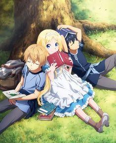 Sao Anime, Chica Anime Manga, Kawaii Anime, Arte Online, Online Art, Online Anime, Desenhos Love, Retro Vintage, Sword Art Online Wallpaper