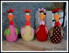 Stuffed Chickens