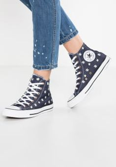 61d8328ac5636e Converse - CHUCK TAYLOR ALL STAR - Sneakers alte - navy fresh yellow white