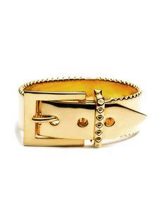 Gold Perscan Buckle Bracelet