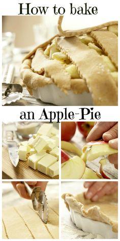 Der Apfelkuchen kommt duftend aus dem Ofen und schmeckt einfach köstlich: Klassischer Apfelkuchen nach amerikanischer Art | http://eatsmarter.de/rezepte/klassischer-apfelkuchen