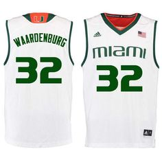 hot sale online 9cd4f fbe47 37 Best Miami Hurricanes Basketball Jerseys images in 2018 ...
