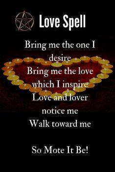 The Spell Caster Checklist Wicca Love Spell, Love Spell Chant, Cast A Love Spell, Love Spell That Work, Good Luck Spells, Free Love Spells, Easy Spells, Free Magic Spells, White Magic Spells