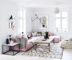 Så här enkelt ger du ditt vardagsrum en lyxig look för billig peng.