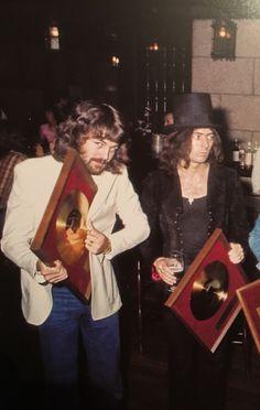 "crazyxxdiamond: "" ""Ian Gillan & Ritchie Blackmore Japan, June 1973 "" """