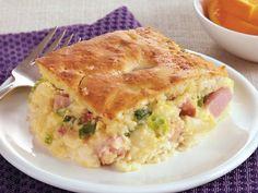 Savory Ham and Swiss Casserole