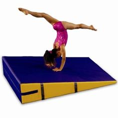 Gymnastics Inclines-Folding and non-folding inclines are the most functional and versatile progressive skill builders for your gymnastics and cheer programs. They have been used by athletes of every skill level, from kids at Mommy and Me classes, to recreation centers, to elite athletes training for international competitions. Inclines are also used in virtually every event.  www.greatmats.com