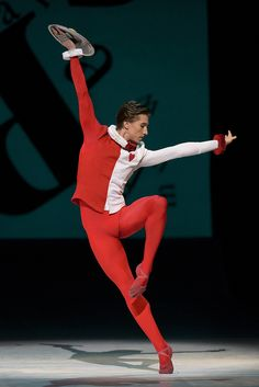Vadim Muntagirov as Jack/The Knave of Hearts in Alice's Adventures in Wonderland, The Royal Ballet © ROH, 2014. Photograph by Bill Cooper