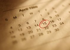 A list of Tax and Accounting Due Dates for 2012.
