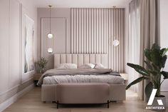 Bedroom Closet Design, Home Room Design, Living Room Designs, Bedroom Decor, Modern Luxury Bedroom, Luxurious Bedrooms, Bed Furniture, Furniture Design, Home Entrance Decor