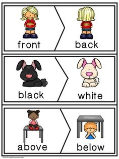 Antonym Make A Match Cards by Triple the Love in Grade 1 Learning English For Kids, English Worksheets For Kids, English Lessons For Kids, English Activities, Preschool Learning Activities, Preschool Printables, Kindergarten Worksheets, Teaching English, English Phonics