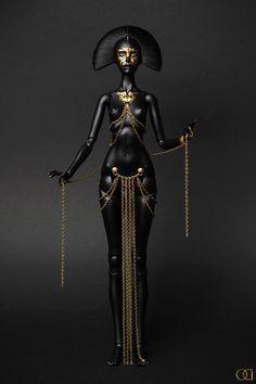 She's going on my altar Black Women Art, Black Art, Estilo Tribal, African Sculptures, Art Sculptures, Mannequin Art, Creature Drawings, Female Character Design, Egyptian Art