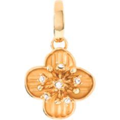 Celandine Flower Charm Crystal