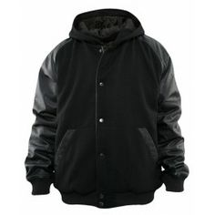 URBAN CLASSICS HOODED COLLEGE JACKET SWEATJACKET - Hoodies & Crews - Menswear