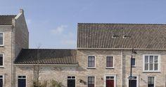 Belgisch blauw bont gesmoorde dakpan Monier