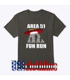 About Area 51 Fun Run Alien T-Shirt.This T-shirt is Made To Order, we print one by one so we can control the quality. We use DTG Technology. Barcelona Fc Logo, Area 51, Direct To Garment Printer, Running, Fun, Mens Tops, T Shirt, Supreme T Shirt, Tee Shirt