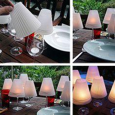 Surprenante lampe abat jour de table