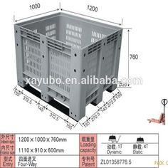 plastic perforated container