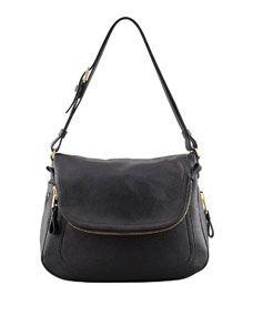 Jennifer Large Leather Shoulder Bag