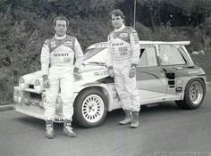 Carlos Sainz con Renault 5 Turbo