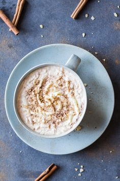 Healthy Cinnamon Hot Chocolate - Eazy Peazy Mealz