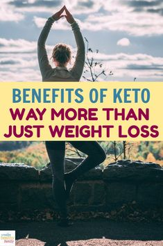 Think the Ketogenic diet is only good for people who want to drop a ton of weight? Think again! The health benefits of keto go way beyond weight loss! #keto #diet #health #newyear #resolutions #wellness #healthy