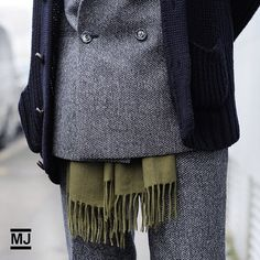 #detail #scarf #trend #style for next winter #streetstyle #mfw  See more: http://bit.ly/Peku6M