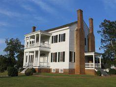 Historic Farmhouse - National Register of Historic Places NRIS #82004554 via Lance Taylor on Flicker - Taken on September 25, 2012 Emporia, Virginia