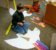 Dinosaur Poster Boards to decorate and many more dinosaur craft ideas