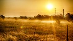 Country Sunrise HD Wallpaper