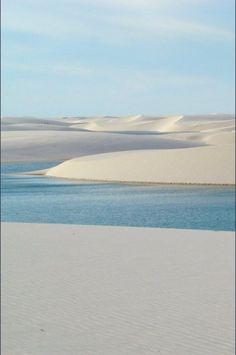 Endless sand and sea