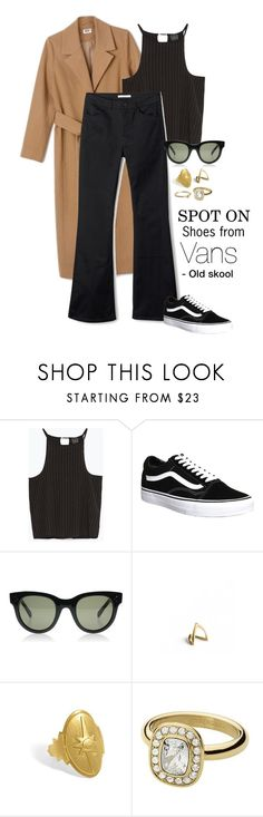 """Spot on // Vans Old Skool"" by frederikke-e ❤ liked on Polyvore featuring Zara, Vans, women's clothing, women, female, woman, misses and juniors"
