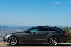 CLS Shooting Brake - Mercedes-Benz reimagines the wagon-coupé with five doors