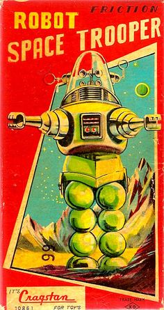 Robby the Robot: Toy Box Art