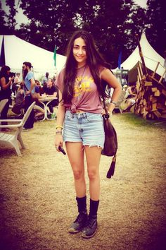 Street Style Fashion – Festival Clothing & Festival Fashion at Bonnaroo 2012 | Free People Blog