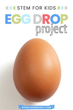 Have you tried the egg drop project yet? This was our year in a row taking part this super fun STEM activity for kids! Check out how to do it with your children or students, and be sure to print out our two free printable recording sheets. Early Learning Activities, Preschool Science Activities, Steam Activities, Stem Science, Spring Activities, Science For Kids, Preschool Activities, Science Ideas, Science Experiments