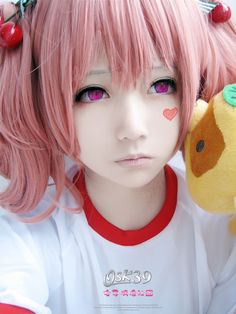 cosplay make up. kawaii cosplay