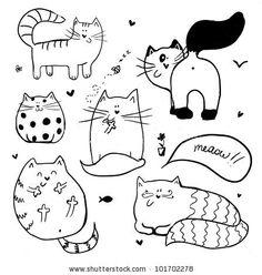 doodle cats2
