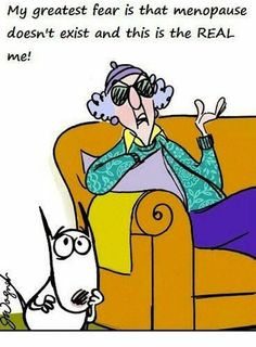 Need some help with menopause? Information and tips to ease menopause symptoms. Explains the physical and emotional changes of menopause - Self help guide Cartoon Jokes, Funny Jokes, Hilarious, Cartoons, Funny Sayings, Friend Sayings, Humorous Quotes, Jokes Quotes, Book Quotes