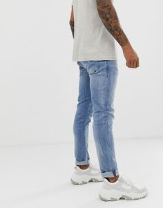 Buy Diesel Tepphar slim carrot fit jeans in light wash at ASOS. Get the latest trends with ASOS now. Jeans Fit, Diesel, Latest Trends, Asos, Normcore, Carrot, Slim, Fitness, Stuff To Buy