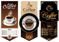 Cafe design vector graphics