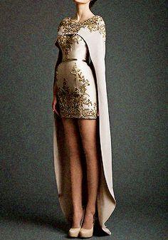 La fille au chignon | fashion-runways: KRIKOR JABOTIAN Akhtamar...