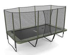 When purchasing the best trampoline for your family, you'll first have to consider shape. A rectangle trampoline isn't the cheapest, and usually meant for adult or competitive jumpers. The bounce on a rectangular trampoline is different from a round trampoline. Read more about the difference here.