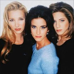 Pheebs, Mon and Rach.