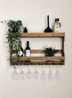Boho Style in Decoration: Photos & References! - Home Fashion Trend Wine Rack Wall, Bars For Home, Decoration, Room Inspiration, Decorating Your Home, Sweet Home, Room Decor, Interior Design, House Styles